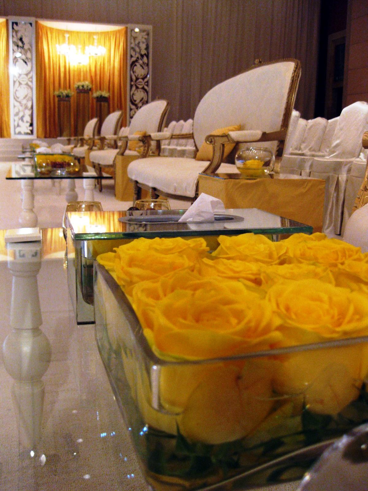 yellow wedding- classic style