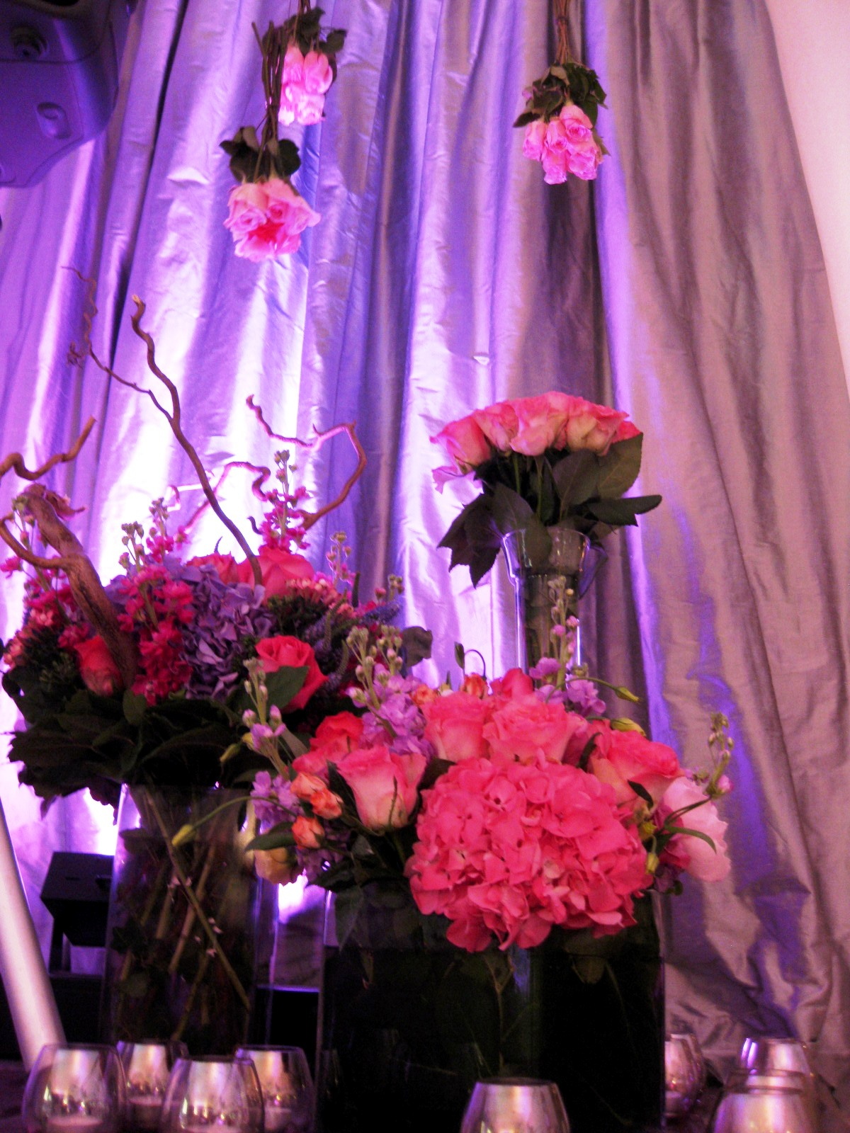 pink silver romantic party